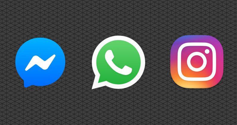 Collegamento WhatsApp a Facebook e Instagram